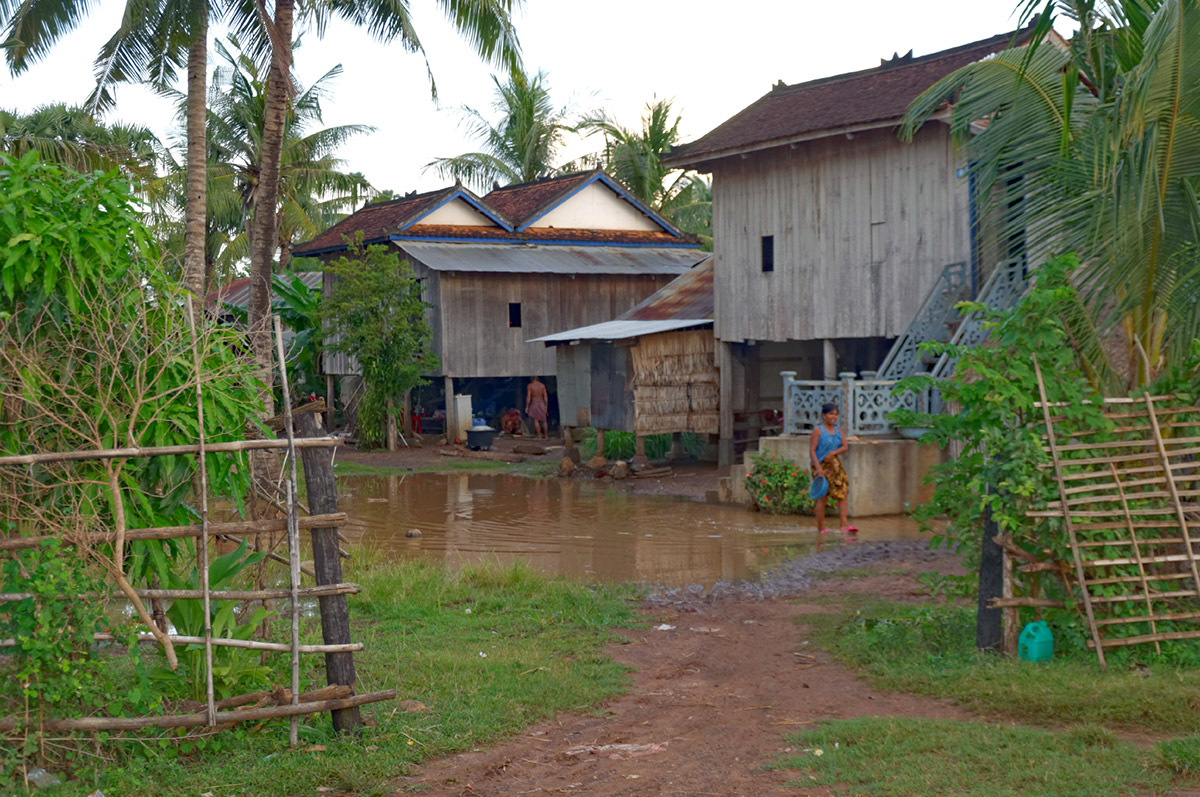 Village typique Khmer