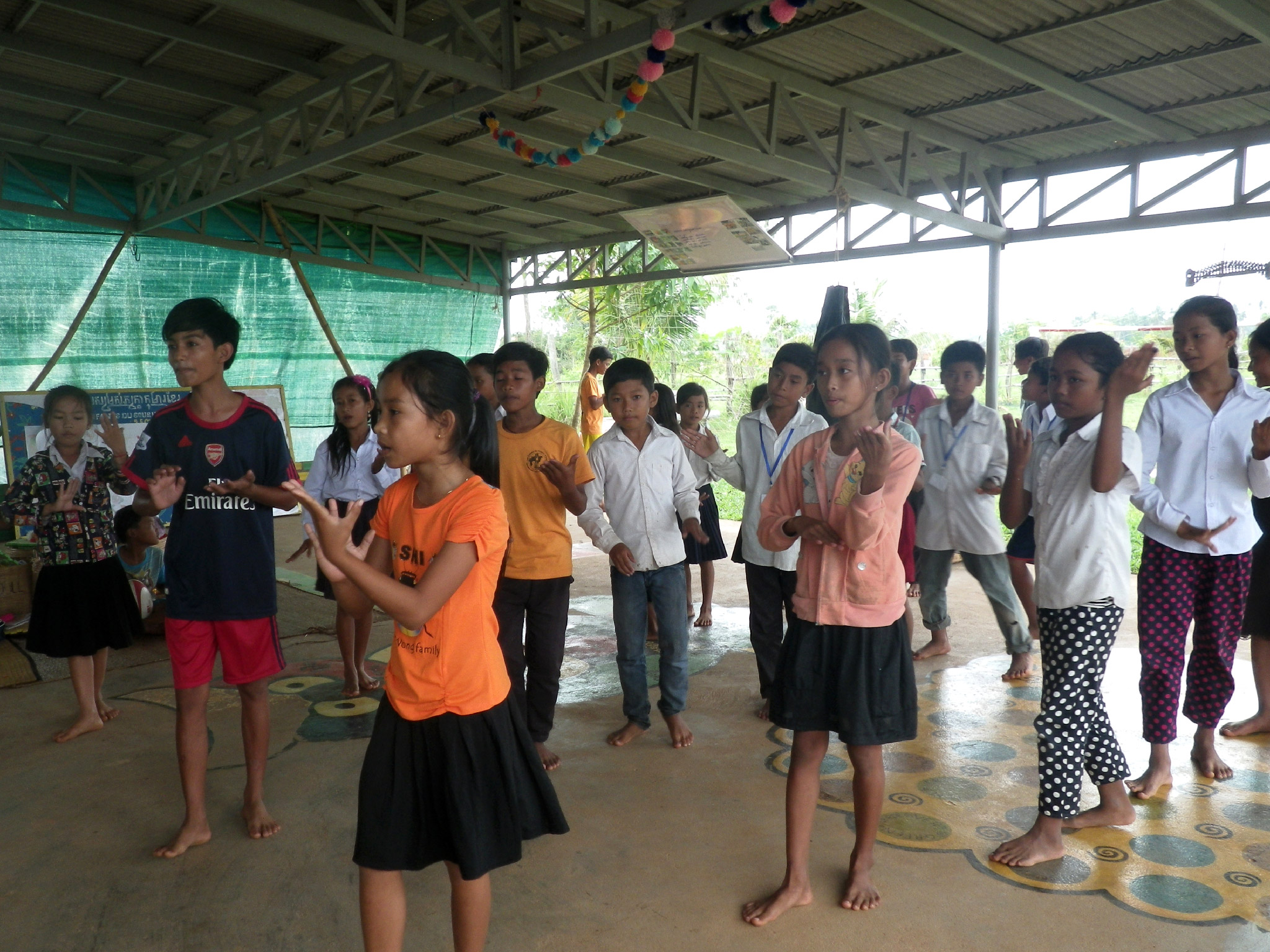 Initiation à la danse khmère